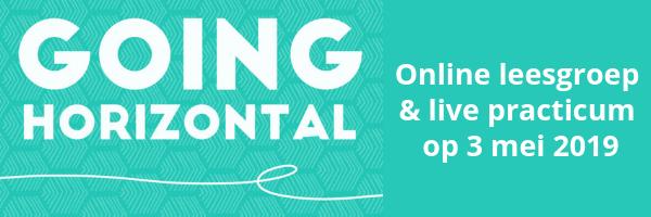 Going Horizontal: Online leesgroep & Live practicum-dag